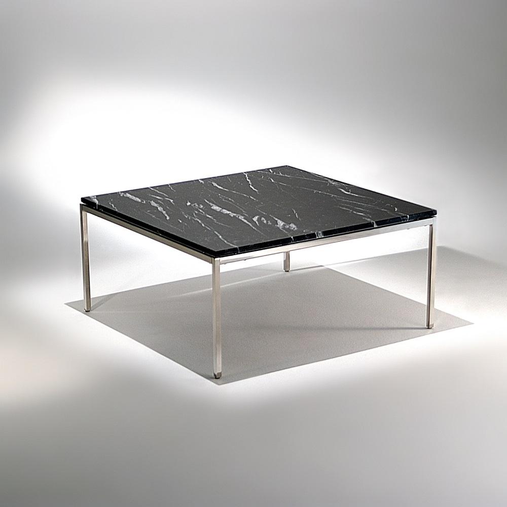 Mesa de Centro FK1 Estrutura Aço Inox Studio Mais Design by Florence Knoll