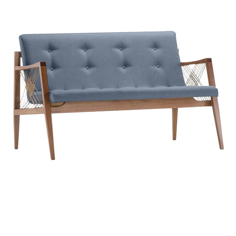 Sofá Fulô - Tecido Azul