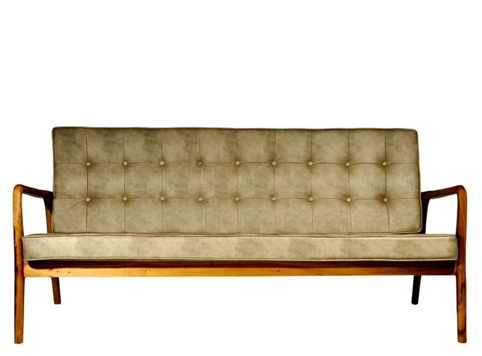 Sofa Anos 50 Bege