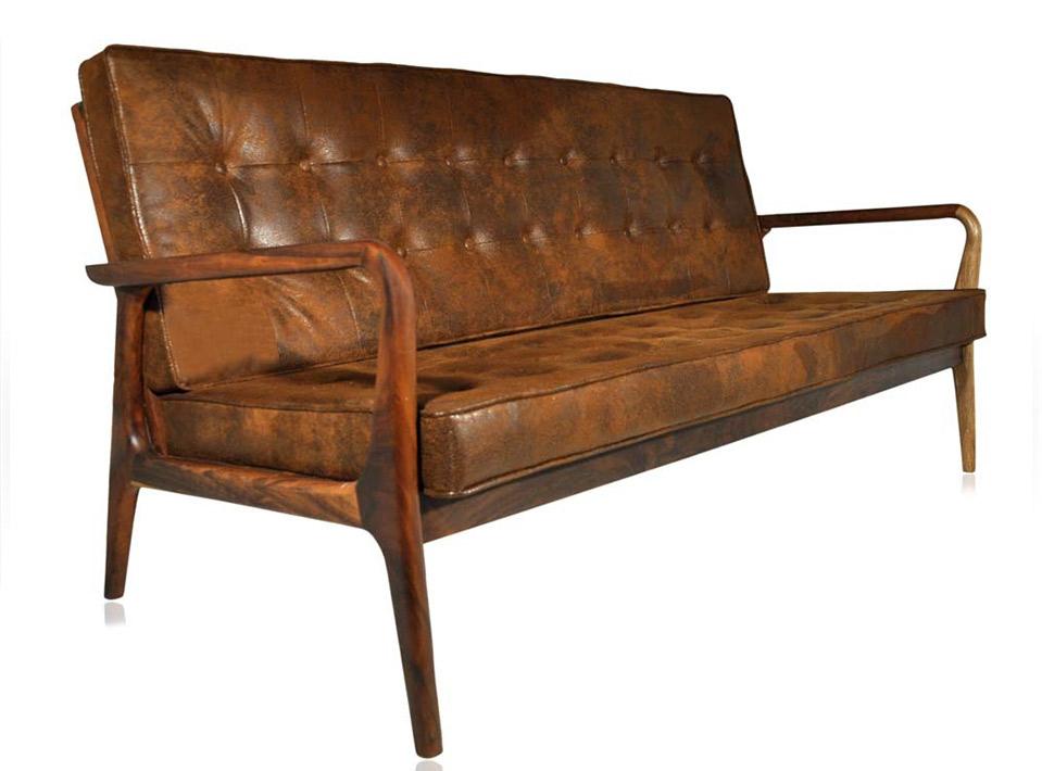 Sofa Anos 50 Envelhecido