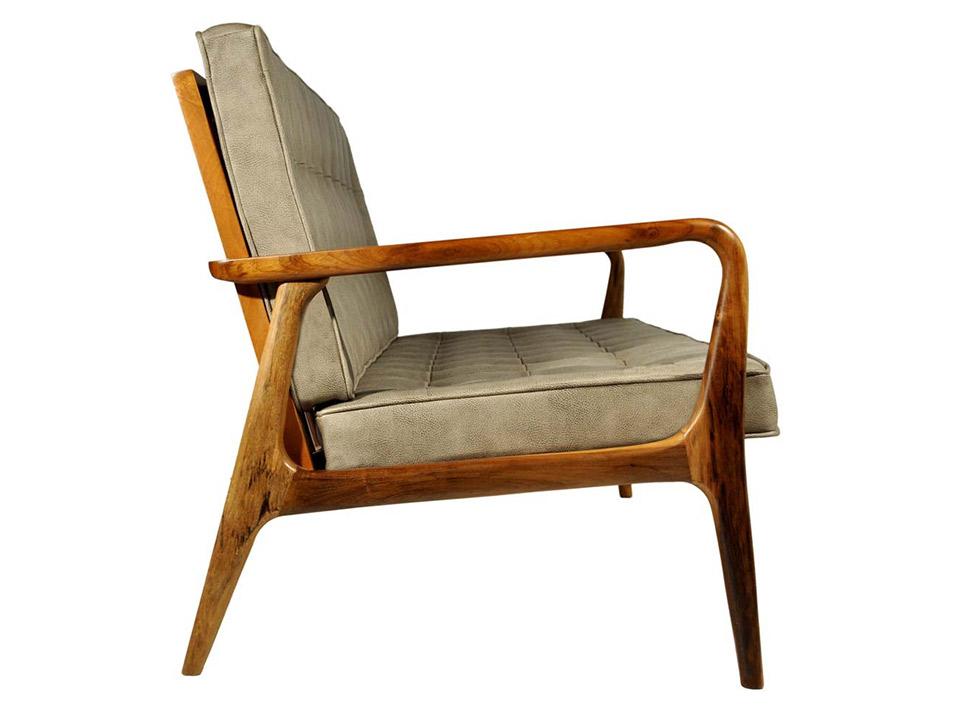 Sofa Anos 50 Imbuia