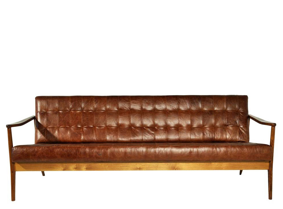 Sofa Vintage Marrom
