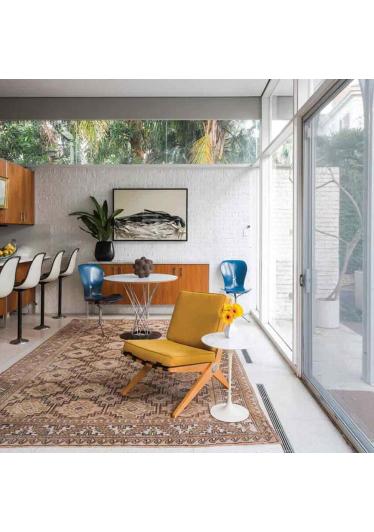 Mesa Alta Redonda Design by Isamu Noguchi