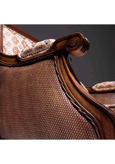 Poltrona Encanthus Madeira Maciça Design Clássico Avi Móveis