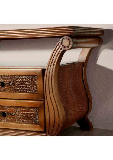 Rack de Som Amistad Madeira Maciça Design Clássico Avi Móveis