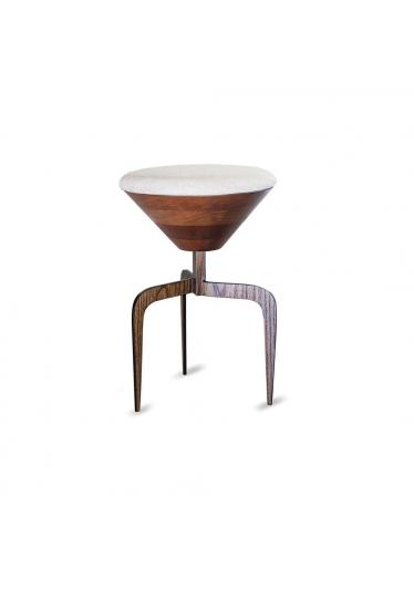 Banco Iron Estilo Minimalista Destack Móveis Design by Mauricio Bomfim