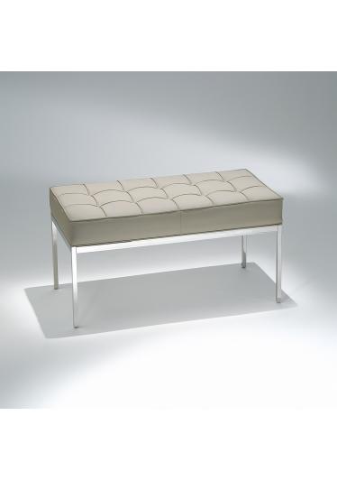 Banco FK1 Estrutura Aço Inox Studio Mais Design by Florence Knoll