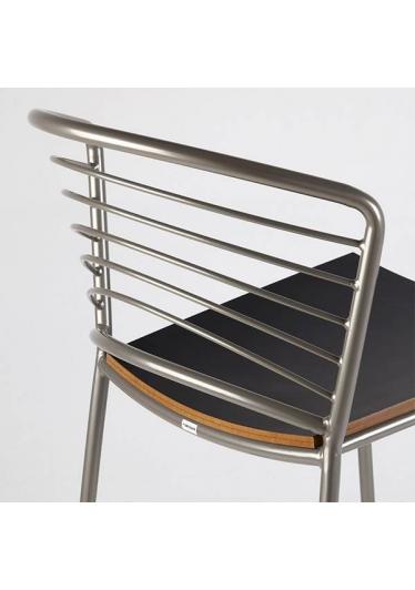 Banqueta Angel Metal Estrutura em Aço Carbono Artesian Design by Fetiche Design Studio