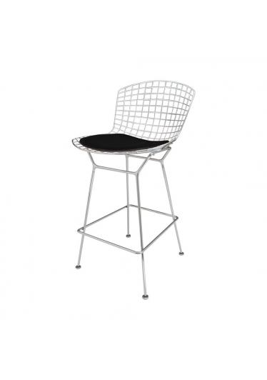 Cadeira Bertóia Bar Almofada Harry Bertoia