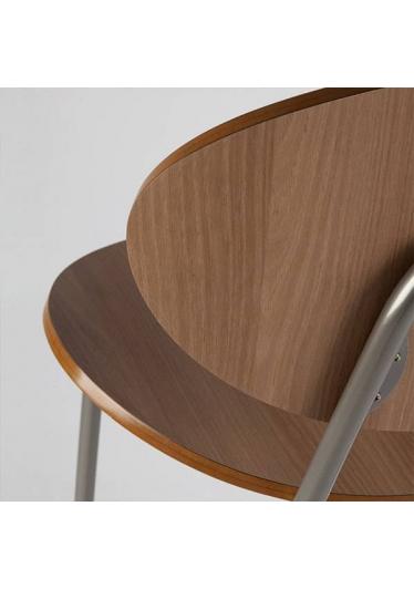 Banqueta Lapa Estrutura em Aço Artesian Design by Fetiche Design Studio
