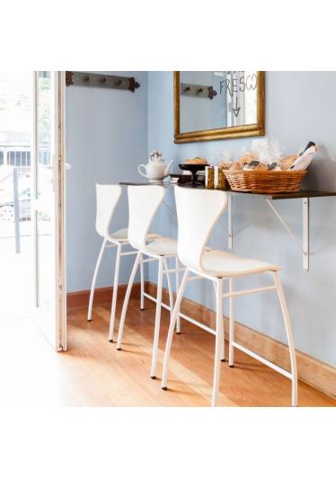 Banqueta Série 7 Estrutura em Aço Artesian Design by Arne Jacobsen