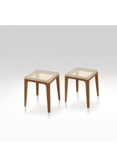 Banco Ettore Estilo Minimalista Destack Móveis Design by Ibanez Razzera