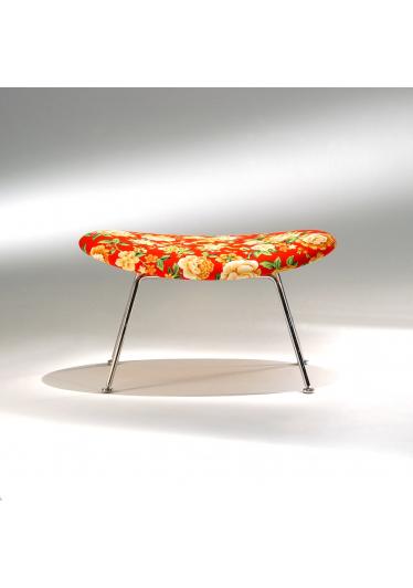 Banqueta Trevo Estrutura Aço Inox Studio Mais Design by Pierre Paulin