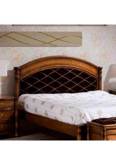 Cabeceira de Cama Amistad Madeira Maciça Design Clássico Avi Móveis