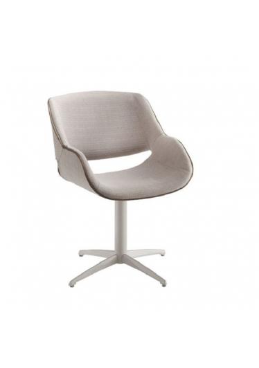 Cadeira Giratória Allana Base Alumínio Pintado Star Mobile