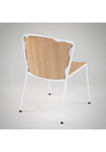 Cadeira Angel II Estrutura em Aço Artesian Design by Fetiche Design Studio