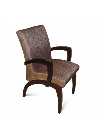 Cadeira Anos 60 em Madeira Maciça com Pinturas e Tecidos Personalizáveis