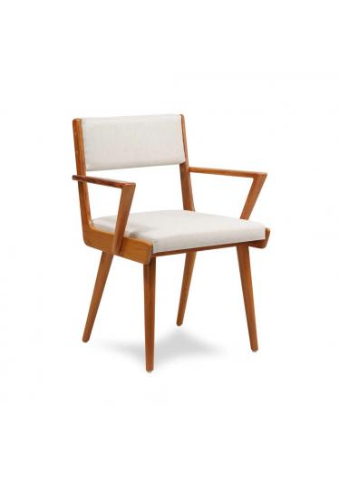 Cadeira Beatinik com Braço Estrutura Peroba de Demolição Eco Friendly Design Scaburi