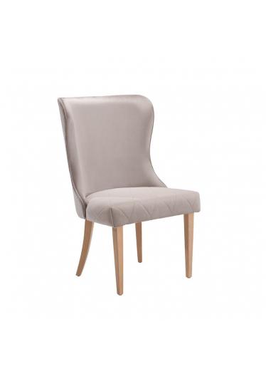 Cadeira Bel Losangos Base Madeira Imbuia Star Mobile