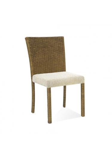 Cadeira Carmel Junco Envelhecido Estrutura Alumínio Eco Friendly Design Scaburi