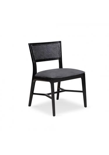 Cadeira Clara com Tela Madeira Maciça Design Clássico Avi Móveis