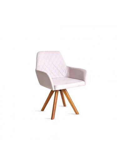 Cadeira Giratória Cloe Encosto e Assento Anatômico Design Atemporal e Moderno Casa A Móveis