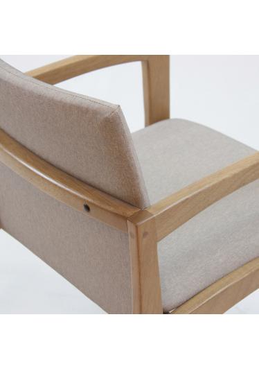Cadeira com Braço Soul Madeira Maciça Design Exclusivo by Studio Artesian