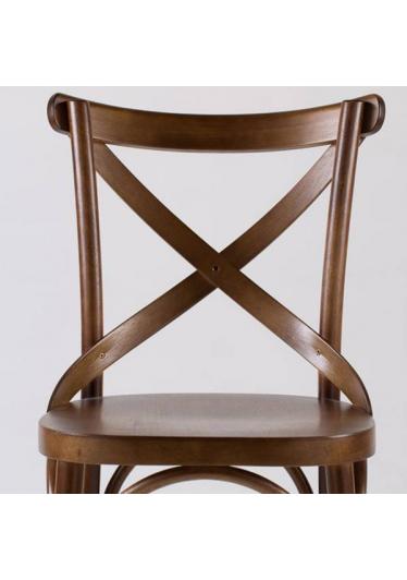 Cadeira Cruz Estrutura Madeira Maciça Design by Studio Artesian