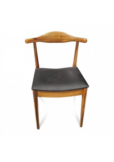 Cadeira Elbow designer Hans Wegner em Madeira com Pinturas e Tecidos Personalizáveis