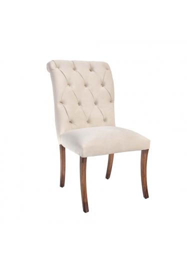 Cadeira Enzo Madeira Maciça Design Clássico Avi Móveis
