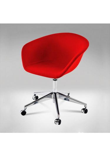 Cadeira Giratória Érgo Soft 5 Patas Rodízios Design by Studio Clássica