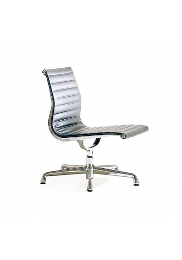 Cadeira Esteirinha EA106 Executiva Estrutura Alumínio Cremon Design by Charles & Ray Eames