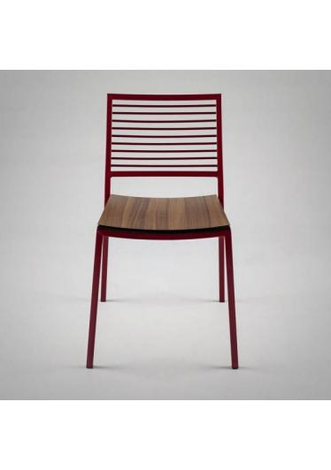 Cadeira Forma Metal Estrutura em Aço Design by Studio Artesian