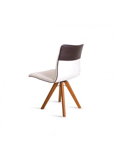 Cadeira Giratória Cristal Encosto e Assento Anatômico Design Atemporal e Moderno Casa A Móveis