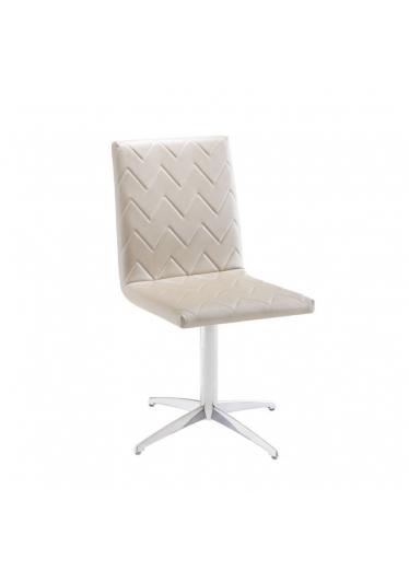 Cadeira Giratória Lili Zig Zag Base Alumínio Star Mobile