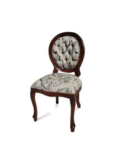 cadeira imperial imbuia capitone