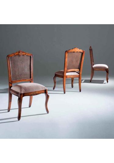 Cadeira Inspiração Madeira Maciça Design Clássico Avi Móveis