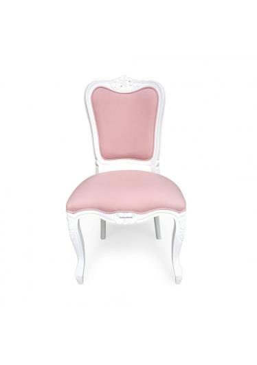 cadeira luis xiv laca branca