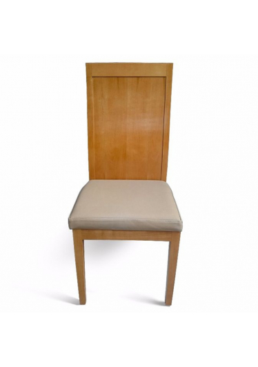 Cadeira Madri em Madeira Maciça com Pinturas e Tecidos Personalizáveis