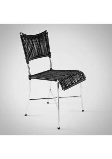 Cadeira Mediterrâneo Junco Sintético Estrutura em Aço Design by Studio Artesian