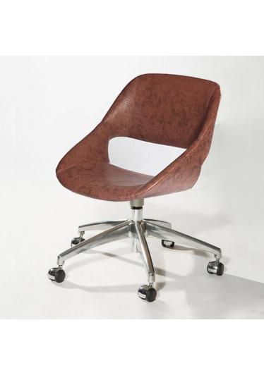 Cadeira Giratória Mooi Office 5 Patas Rodízios Design by Studio Clássica
