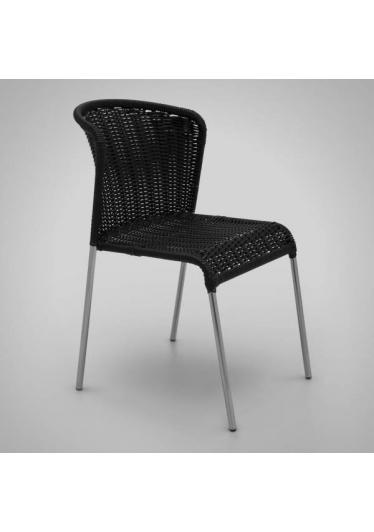 Cadeira Noa Junco Sintético Estrutura em Aço Design by Studio Artesian