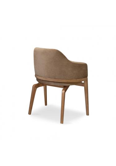 Cadeira Olavo Estofada Madeira Maciça Design Clássico Avi Móveis