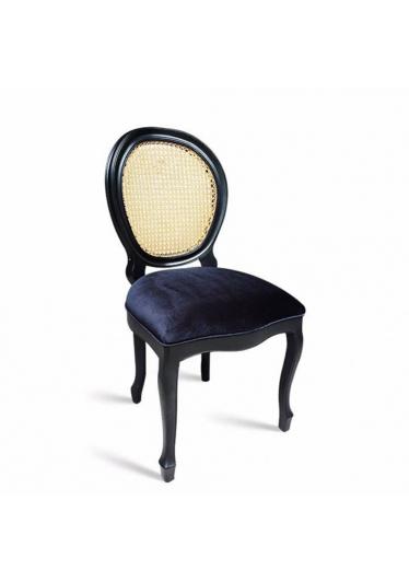 Cadeira Palhinha Natural Indiana com Pinturas e Tecidos Personalizáveis