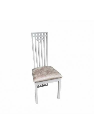 Cadeira Palito em Madeira Maciça com Pinturas e Tecidos Personalizáveis