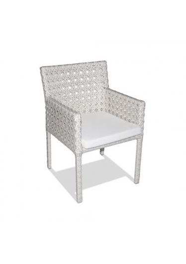 Cadeira Panamá para Área Externa Fibra Sintética Estrutura Alumínio Eco Friendly Design Scaburi