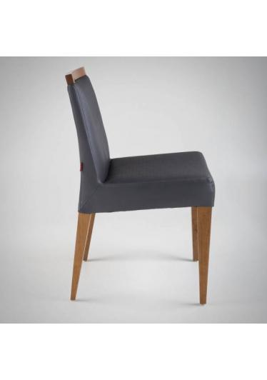 Cadeira Prime II Estrutura Madeira Maciça Design by Studio Artesian