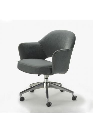 Cadeira Giratória Saarinen 71 Office Studio Clássica Design by Eero Saarinen