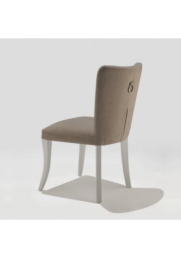 Cadeira Sofia com Puxador Base Madeira Maciça Jequitibá Tremarin Design by Studio Marko20