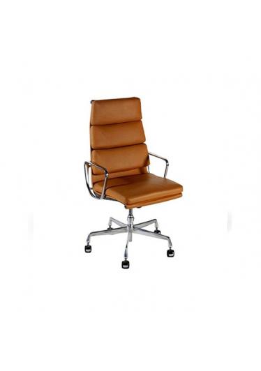Cadeira Giratória Soft EA219 Executiva Estrutura Alumínio Cremon Design by Charles & Ray Eames